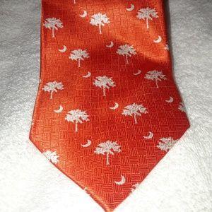 Olacchi Orange South Carolina Tie